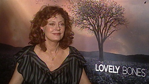 [Susan Sarandon: I Found 'the Lovely Bones' to Be 'Comforting']