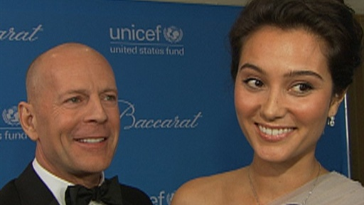 [Bruce Willis: Newlyweds Should 'Eat, Drink and Have Fun']