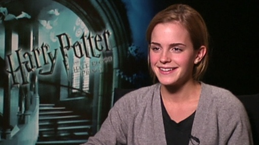 [Emma Watson Talks 'Harry Potter and the Half-Blood Prince']