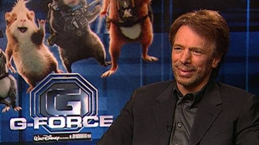 [Jerry Bruckheimer Talks 'G-Force' and Future of 'Pirates of the]
