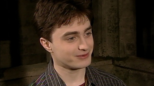['Harry Potter and the Half-Blood Prince': Daniel Radcliffe Inter]