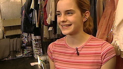 ['Harry Potter' Set Visit: Emma Watson's Wardrobe Tour] Video