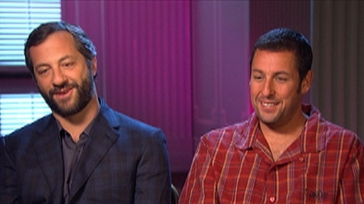 Adam Sandler and Judd Apatow Talk 'Funny People' Video