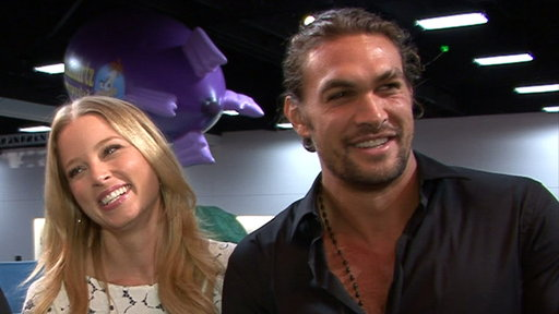 Comic-Con 2011: Jason Momoa Is 'Not a Fan' of Arnold Schwarzeneg Video