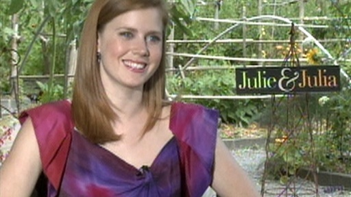 [Amy Adams Talks 'Julie and Julia']