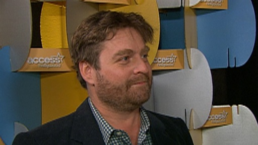 [ShoWest 2010: Zach Galifianakis Talks 'Hangover 2' and 'Due Date]