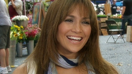 [On The Set Of Jennifer Lopez's 'Back-Up Plan']