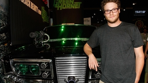 [Comic-Con 2009: Seth Rogen Unveils 'Green Hornet's' Black Beauty]