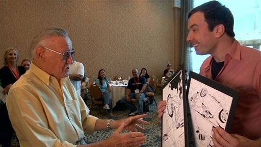 Jimmy at Comic-Con: Stan Lee Video