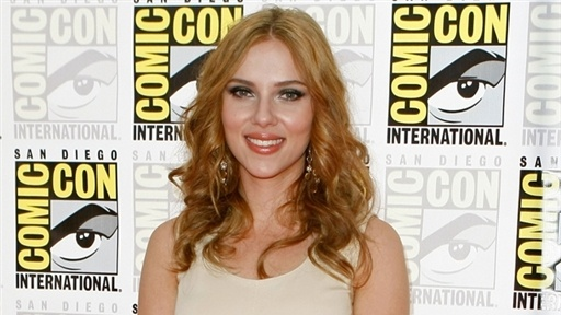 [Scarlett Johansson Talks 'Iron Man 2']