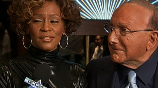 Whitney Houston and Clive Davis Talk Comeback Video