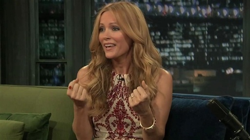 [Leslie Mann: More Than An Acting Lesson]