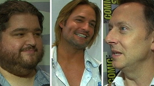[Comic-Con 2009: Michael Emerson, Josh Holloway and Jorge Garcia]