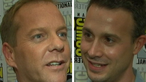 Comic-Con 2009: Kiefer Sutherland and Freddie Prinze Jr. Talk '2 view on break.com tube online.