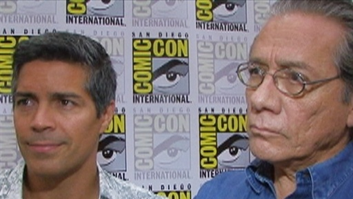 Comic-Con 2009: Esai Morales and Edward James Olmos Talk 'Capric Video