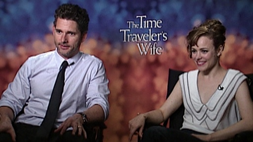 [Eric Bana and Rachel McAdams Talk 'The Time Traveler's Wife']