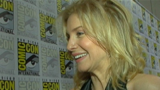 [Comic-Con 2009: Elizabeth Mitchell Talks 'V' and 'Lost']