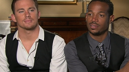 [Channing Tatum and Marlon Wayans Talk 'G.I. Joe: The Rise Of Cob]