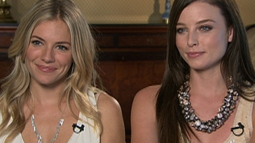[Sienna Miller and Rachel Nichols Talk 'G.I. Joe: The Rise Of Cob]