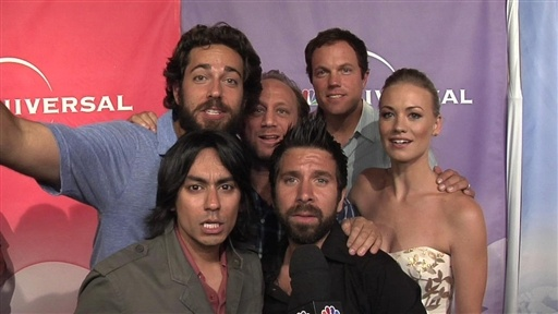 "Cast of ""Chuck"" at Press Tour Video"