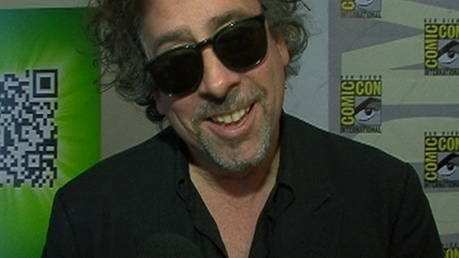 [Comic-Con 2009: Tim Burton Talks 'Alice In Wonderland' & '9']