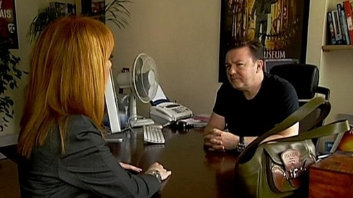 Ricky Gervais, UK Comic Genius Video