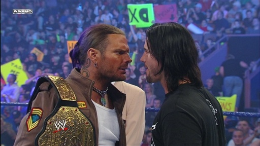 [Jeff Hardy addresses the WWE Universe]