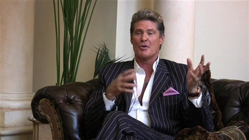 [The Hoff Talks Talent]