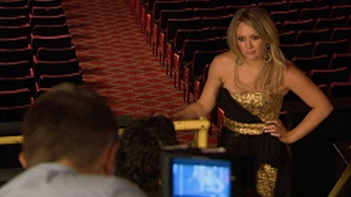 On The Set: Hilary Duff Is A 'Gossip Girl' Video