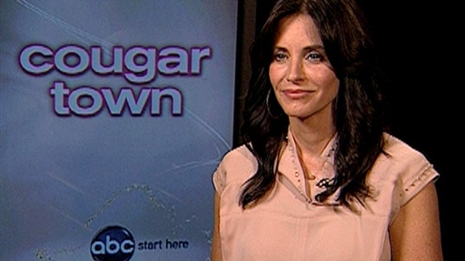 Courteney Cox Is The New &#39;Cougar&#39; In Town Video