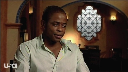 [Dule Hill on Season 4]