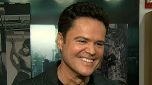 [Donny Osmond on Joining 'Dancing With the Stars']
