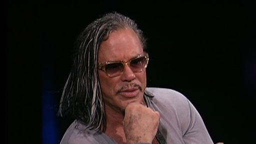 Mickey Rourke: Audience Question Video