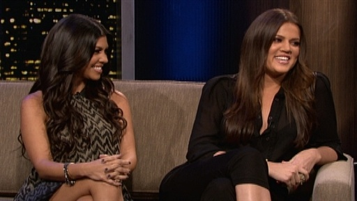Kourtney and Khloe Kardashian Video