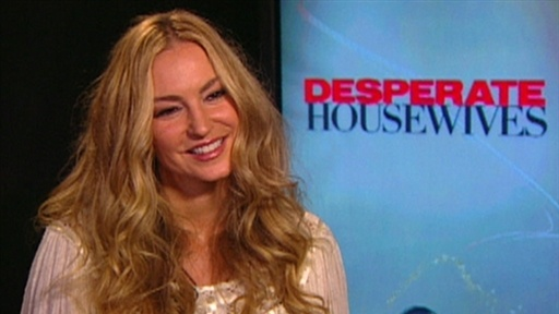 Drea De Matteo Moves To Wisteria Lane Video