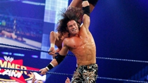 [The Hardys and John Morrison Vs. CM Punk and The Hart Dynasty]