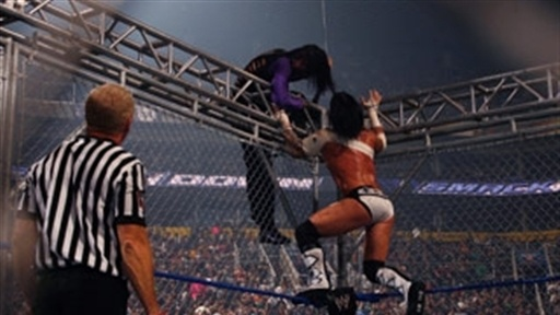 [Jeff Hardy Vs. CM Punk in a Steel Cage Match]