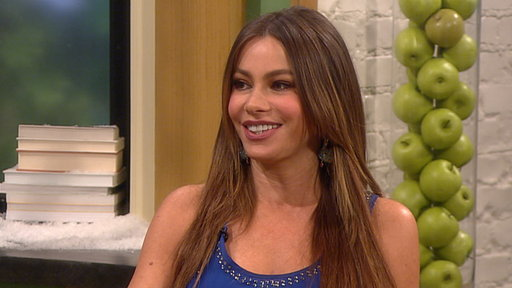 [Sofia Vergara Talks Getting Ready for the 2012 Golden Globes]