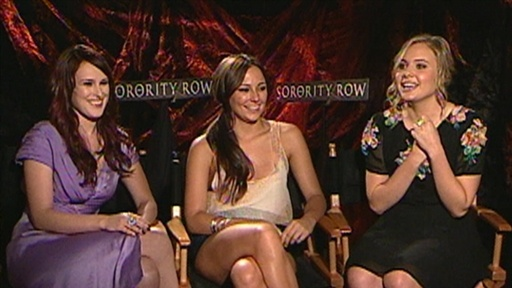 Rumer Willis, Briana Evigan, Leah Pipes Are 'Mean Girls with Kni Video