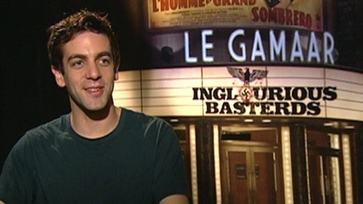 [B.J. Novak Talks 'Inglourious Basterds': 'It Was Easy To Forget]