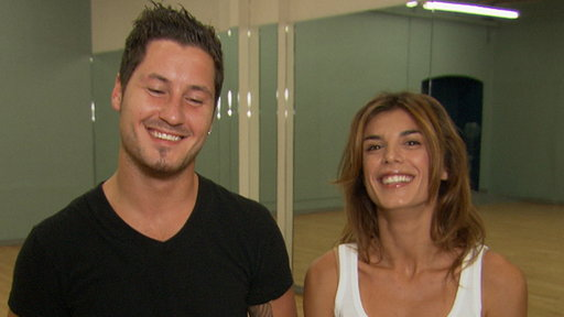[Inside Elisabetta Canalis' 'Dancing With the Stars' Rehearsal]