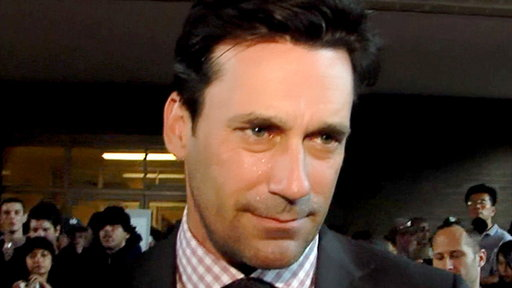 Jon Hamm Hits the 'Friends With Kids' Premiere Video