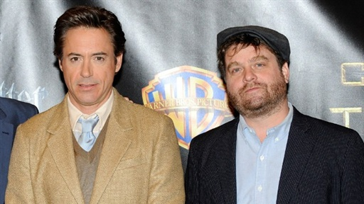 ShoWest 2010: Robert Downey Jr. and Zach Galifianakis Talk 'Due Video