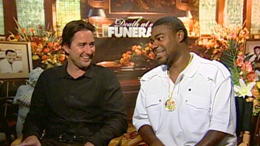 Tracy Morgan and Luke Wilson On 'Death at a Funeral' Video