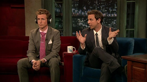 Sibling Game with Seth and Josh Meyers, Part 1 Video
