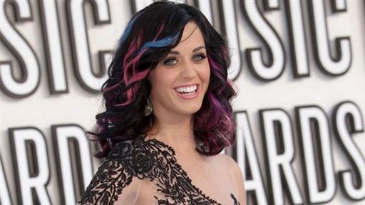 MTV Video Music Awards 2010: What Is Katy Perry&#39;s Lucky Charm? Video