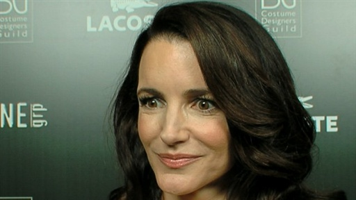 [Why Doesn't Kristin Davis Like the Idea of a 'Sex & the City' Pr]