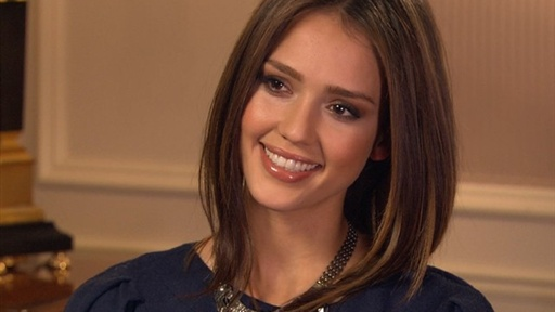 [Jessica Alba Talks 'Little Fockers']