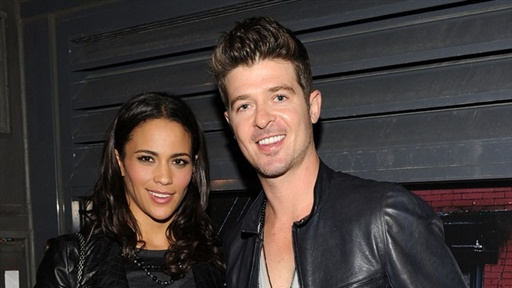 Robin Thicke &amp; Paula Patton On Their Rare Date Night Video