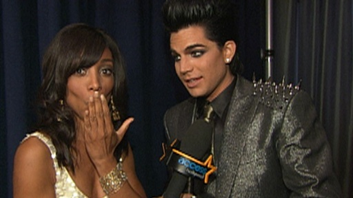 [2009 AMAs: Adam Lambert Backstage - 'Shock Is Fun']